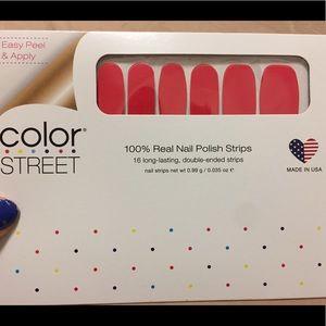 Color street Ecuadorable nail strip